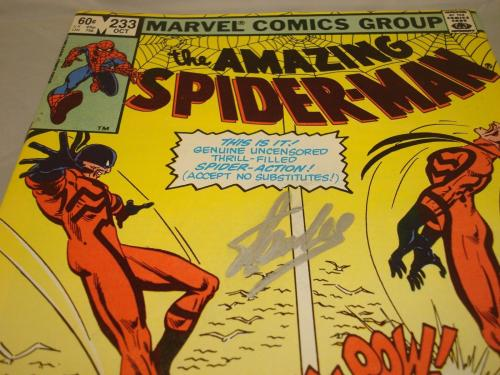 Stan Lee Signed The Amazing Spider-Man Comic Book Autographed PSA/DNA COA 1A