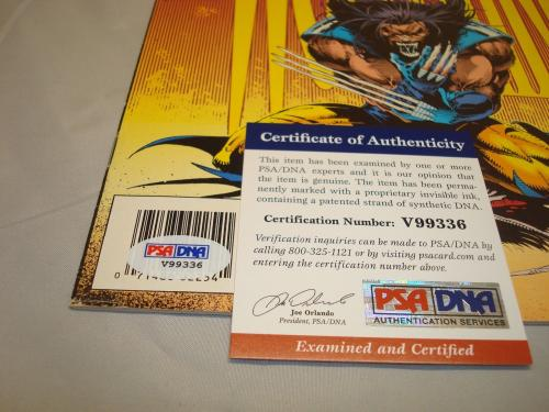 Stan Lee Signed Wolverine Comic Book Marvel Comics PSA/DNA COA Autographed 1A