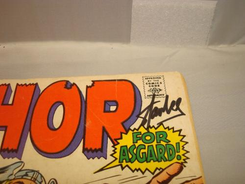Stan Lee Signed The Mighty Thor Comic Book Marvel Autographed PSA/DNA COA 1A