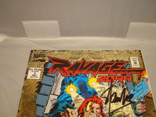 Stan Lee Signed Ravage 2099 Comic Book Marvel Comics Autographed PSA/DNA COA 1B
