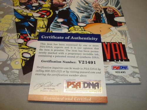 Stan Lee Signed X-Men Unlimited Survival Comic Book Autographed PSA/DNA COA 1A