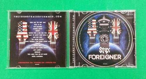 Styx Complete X5 Foreigner X2 And Don Felder Of The Eagles Signed Cd Jsa Coa