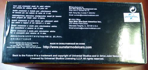 Michael J Fox Autographed Back To The Future Die-Cast DeLorean Car 1:18 Scale PSA/DNA Stock #105725