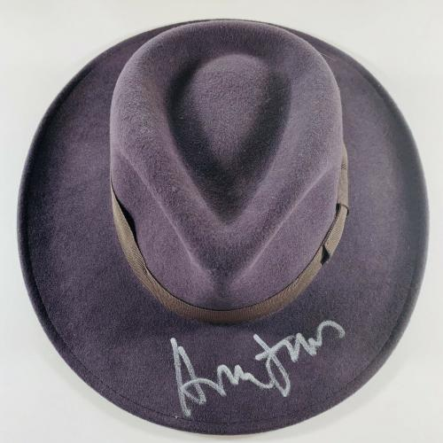 Harrison Ford Signed Indiana Jones Fedora Hat Authentic Beckett Bas Loa #a79431