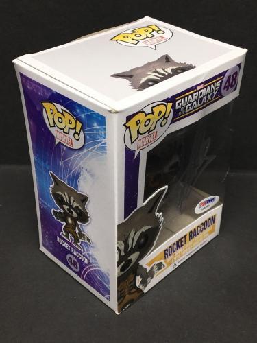 Stan Lee Signed Marvel Guardians Of The Galaxy: Rocket Raccoon Funko POP #48 PSA