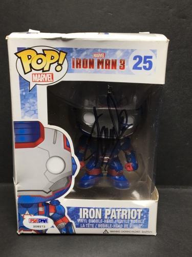 Stan Lee Signed Marvel Iron Man 3:Iron Patriot Funko POP #25 PSA X08573