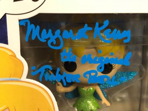 "Margaret Kerry Signed Hot Topic Funko POP #10 ""The Original Tinker Bell"" JSA"