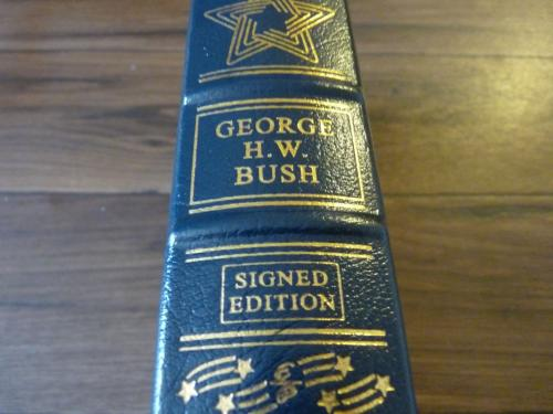 George H.W. Bush Signed Autographed All The Best LTD ED HB Book BAS Certified