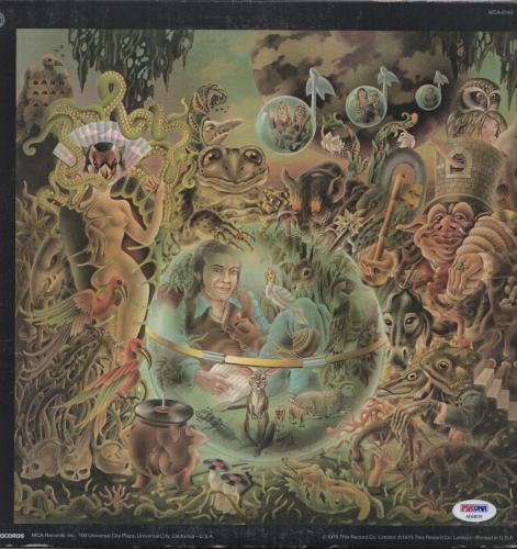 Elton John Signed Captain Fantastic Record Album Psa Coa Ae64019