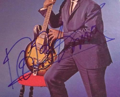 BB King signed album the king b.b. autographed with psa dna coa