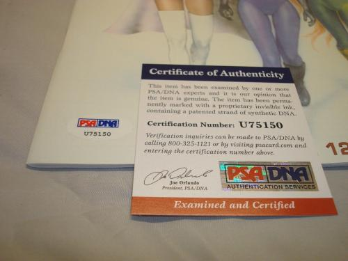 Stan Lee Signed Pittsburgh Comicon Program Autographed PSA/DNA COA Spider-Man 1A
