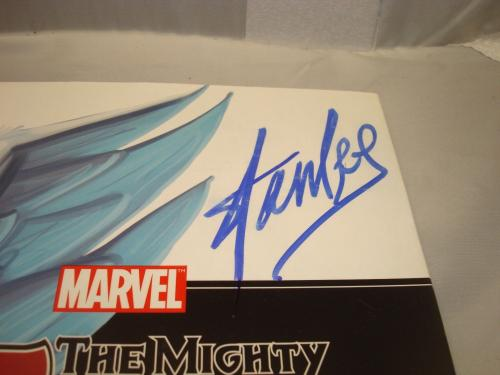 Stan Lee Signed The Mighty Thor Book Autographed PSA/DNA COA Marvel 1A
