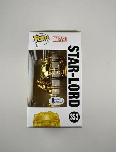 Chris Pratt Guardians Galaxy Endgame Avengers Autographed Signed Funko Pop BAS