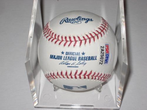 PRES. GEORGE H. W. BUSH Signed Official Major League Baseball w/ PSA ITP