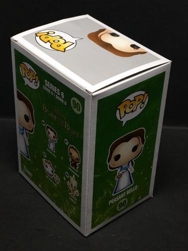 "Paige O'Hara Signed Peasant Belle Funko Pop 90 *Beauty And The Beast ""Belle"" PSA"