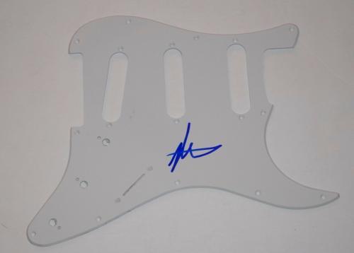 Matt Shultz Signed Autographed Guitar Pickguard Cage The Elephant Singer COA