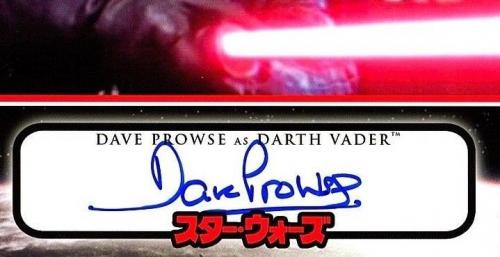 DAVE PROWSE Signed Darth Vader STAR WARS 8x10 Official Pix Photo PSA/DNA AE93800