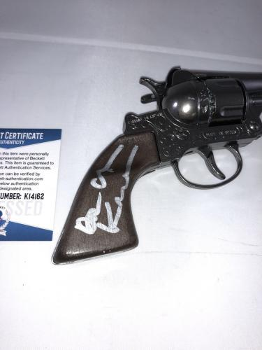 Val Kilmer Signed Tombstone Doc Holliday Replica Rolver Toy Gun Beckett Bas