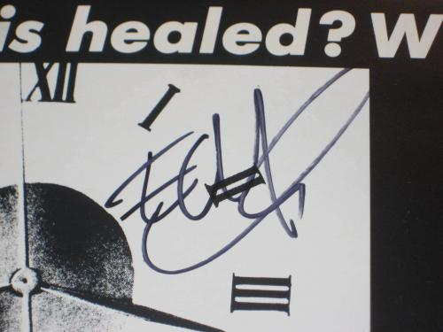EDGE (U2) Signed NIGHT & DAY PROMO SINGLE Cover w/ Beckett COA