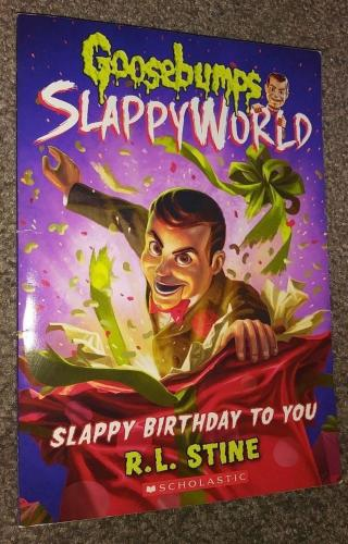 Rl Stine Goosebumps Signed Autographed Slappy Birthday To You Book Jsa Coa Rare