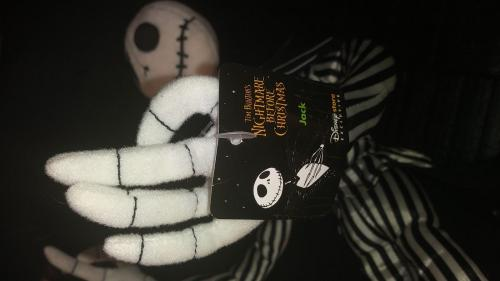 "Disney Store Nightmare Before Christmas Jack Exclusive 16"" Plush Toy Rare W/tags"