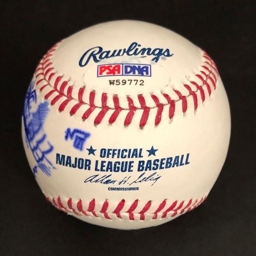 Stan Lee Signed Major League Baseball With Spider-Man Sketch PSA W59772