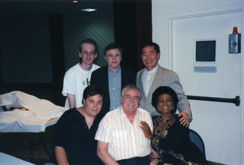 Star Trek Cast Signed Autographed Photo Leonard Nimoy Deforest Kelley Shatner