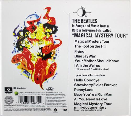Paul McCartney Beatles Signed Magical Mystery Tour Cd Insert W/ Disk BAS #A78561