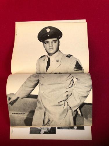 "1959, Elvis Presley, ""ELVIS IN The ARMY"" Magazine (Scarce / Vintage)"