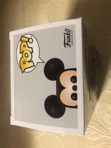 Bret Iwan Signed Autographed Mickey Mouse Funko Shop Pop Disney Blue JSA COA