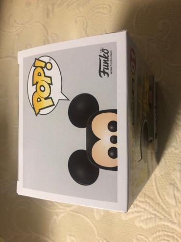 Bret Iwan Signed Autographed Mickey Mouse Funko Shop Pop Disney Pink JSA COA 1