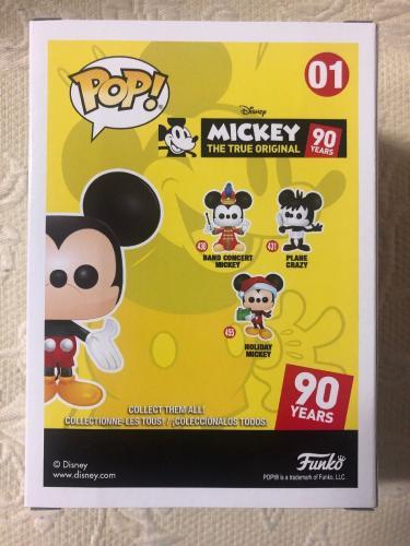 Bret Iwan Signed Autographed Mickey Mouse Funko Shop Pop Disney Green JSA COA