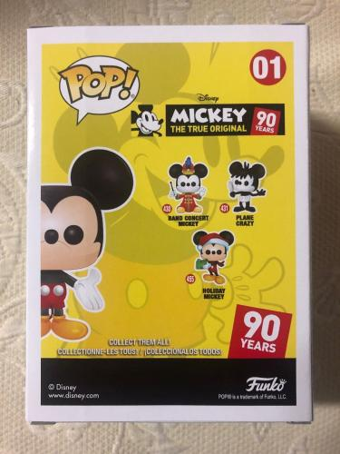 Bret Iwan Signed Autographed Mickey Mouse Funko Shop Pop Disney Green JSA COA 1