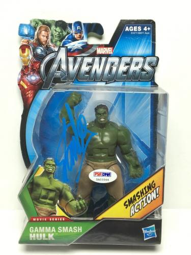 Stan Lee Signed Marvel 'The Avengers: Hulk' Action Figure PSA 5A03344