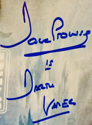 Dave Prowse Authentic Signed Star Wars Empire 11x17 Poster Photo - PSA DNA COA