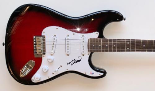 Keith Richards Autographed Rolling Stones Fender Stratocaster guitar Signed PSA