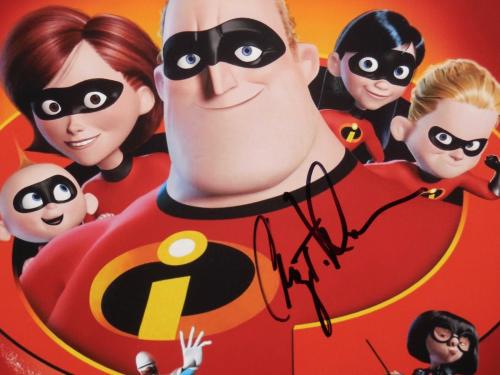 Craig T Nelson Autographed 8x10 Color Photo (framed & Matted) - The Incredibles!