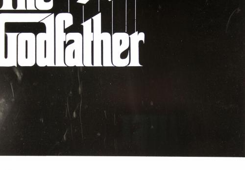 Al Pacino The Godfather Signed 27x40 Poster (Slight Damage) PSA/DNA Itp #5A80159