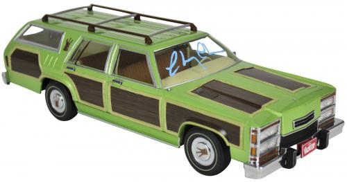 Chevy Chase National Lampoon's Vacation Signed 1:18 Family Truckster BAS 3