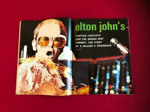 "1975, Elton John, ""CIRCUS RAVES"" Magazine (No Label) Scarce / Vintage"