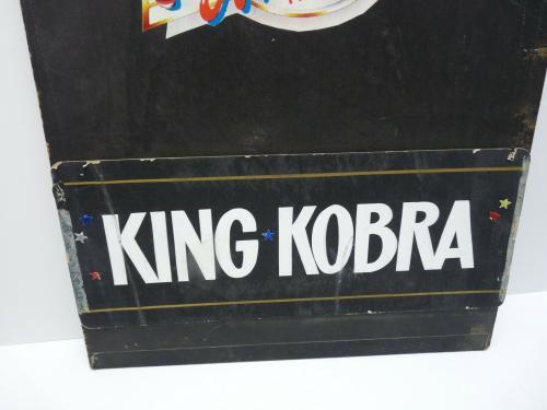 King Kobra Band Rare Vintage 1980's Dressing Room Sign Carmine Appice