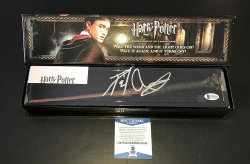 Daniel Radcliffe Signed Autograph Harry Potter Illuminating Wand Bas Beckett