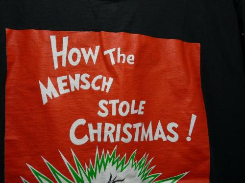 Def Leppard Rare Band Only HOW THE MENSCH STOLE CHRISTMAS 1992 Shirt LG RARE SS2