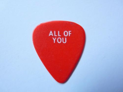 Keith Richards Rolling Stones Keef All Of You 1989 Tour Issued Guitar Pick Rare