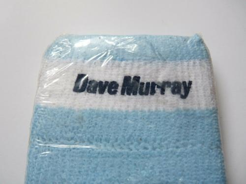 2 Dave Murray Iron Maiden 1988 Tour Issued Wrist Sweat Bands Sealed Rare M1