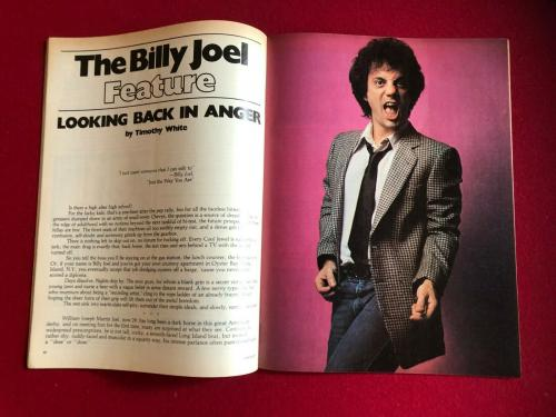 "1978, Billy Joel, ""CRAWDADDY"" Magazine (No Label) - ""The Piano Man"