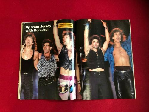 "1985, JON BON JOVI, ""CIRCUS"" Magazine (No Label) Scarce / Vintage"