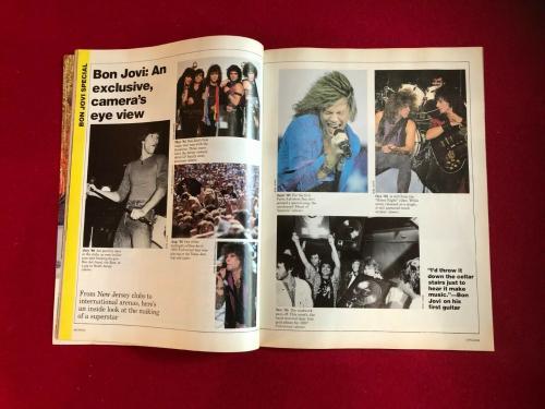 "1987, JON BON JOVI, ""CIRCUS"" Magazine (No Label) Scarce / Vintage"