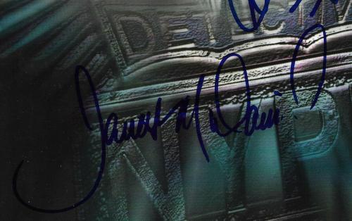 NYPD Blue signed 8x10 photo framed 3 auto Jimmy Smits James McDaniel JSA COA