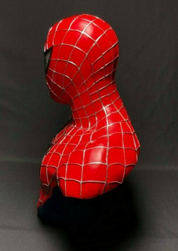 Stan Lee Signed Spider-Man Life Size Bust *Marvel PSA W14079/Exclesior COA